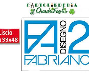 Album Fabriano 2 Liscio cm.33x48 Fg.12