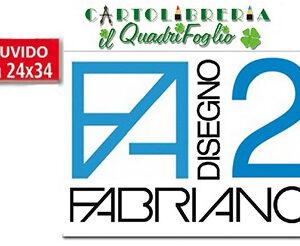 Album Fabriano 2 Ruvido cm.24x33 Fg.10