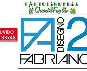 Album Fabriano 2 Ruvido cm.33x48 Fg.12
