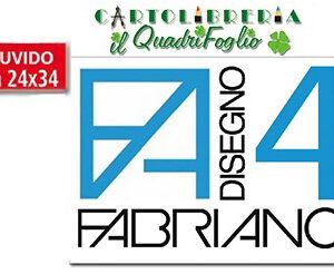 Album Fabriano 4 Ruvido cm.24x33 Fg.20
