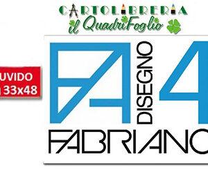 Album Fabriano 4 Ruvido cm.33x48 Fg.20
