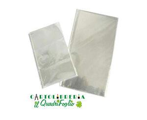 Buste neutre trasparenti cm.8x12 Cf.100