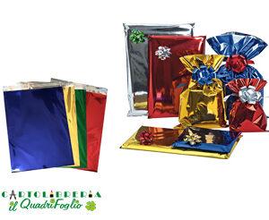 Buste regalo metal cm.15x25 Cf.50