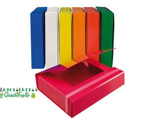Porta Progetti 3 lembi Arca con elastico dorso cm.6