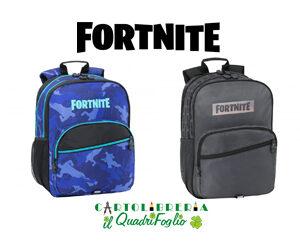 Zaino scuola 3 scomparti Fortnite