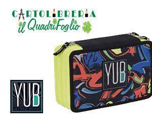 Astuccio portacolori yub seven graffiti