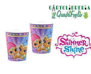 Bicchieri festa compleanno Shimmer e Shine Pz.8