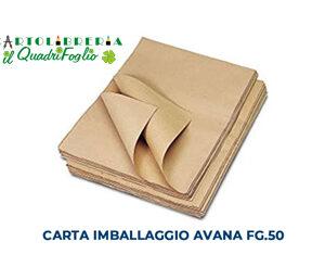 Carta da imballaggio avana cm.100x140 Cf.50