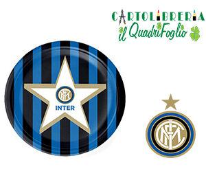 Piatti torta festa compleanno Inter Pz.8