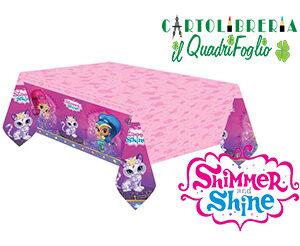 Tovaglia compleanno Shimmer e Shine cm.120x180