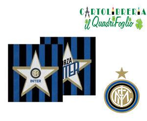 Tovaglioli festa compleanno Inter Pz.20