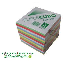 Blocco cubo colorato 9x9