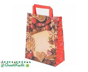 Busta decorazione natalizia 28,5x22x9