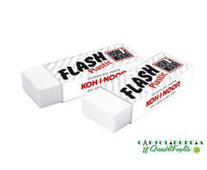 Gomma bianca Kohinoor Flash Plastic
