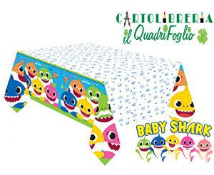 Tovaglia festa compleanno Baby Shark cm.120x180