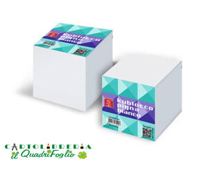 Blocco cubo bianco 9x9