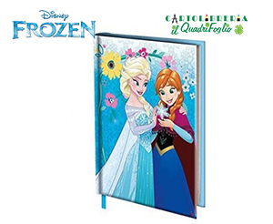 Diario-Frozen-Elsa-e-Anna-Scolastico