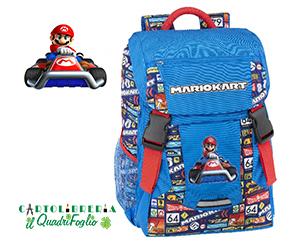 Zaino-Super-Mario-Kart-Scuola-Estensibile