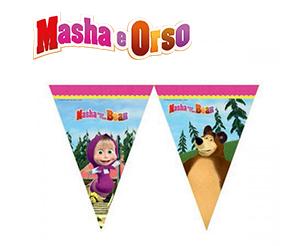 Masha-e-Orso-festone-bandierine-triangolari