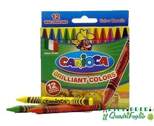 Pastelli a cera Carioca Cf.12