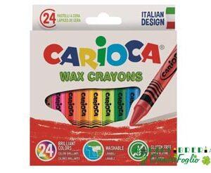 Pastelli a cera Carioca Cf.24